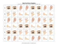 Patterning Parts of Body