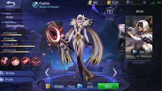 Good Gear Hero Fasha Mobile Legend Terbaru, Dan Paling Kuat