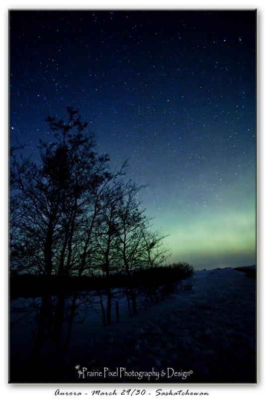 Beautiful Aurora in Saskatchewan