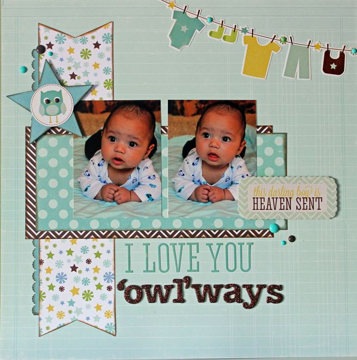 Made with Echo Park Bundle of Joy Baby Boy collection