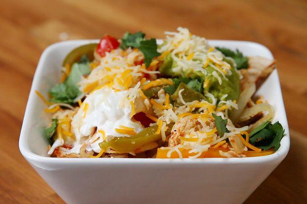 Easy Chicken Fajita Bowls #TastyJunior