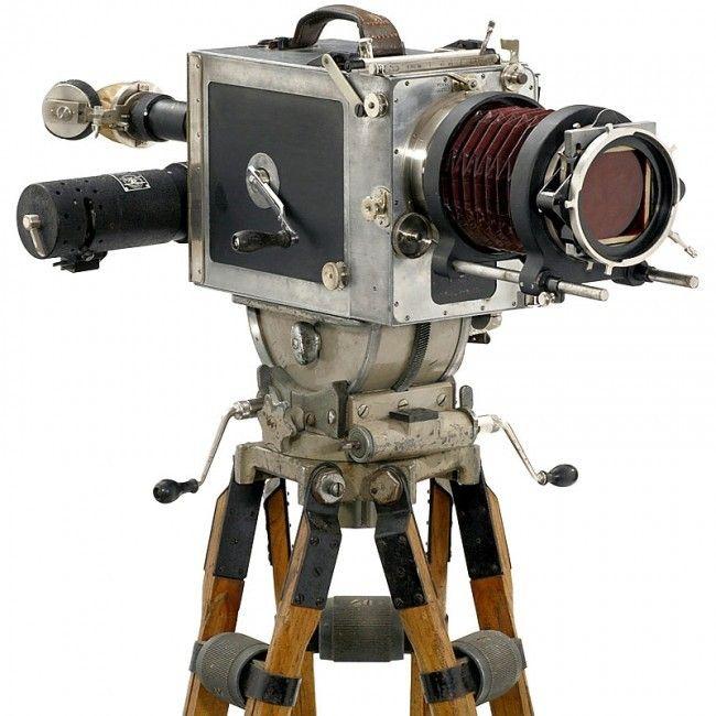 Bell Howell 2709 Pathe' Debrie Parvo' Akeley Hand Cranked 35mm Movie Cameras | eBay