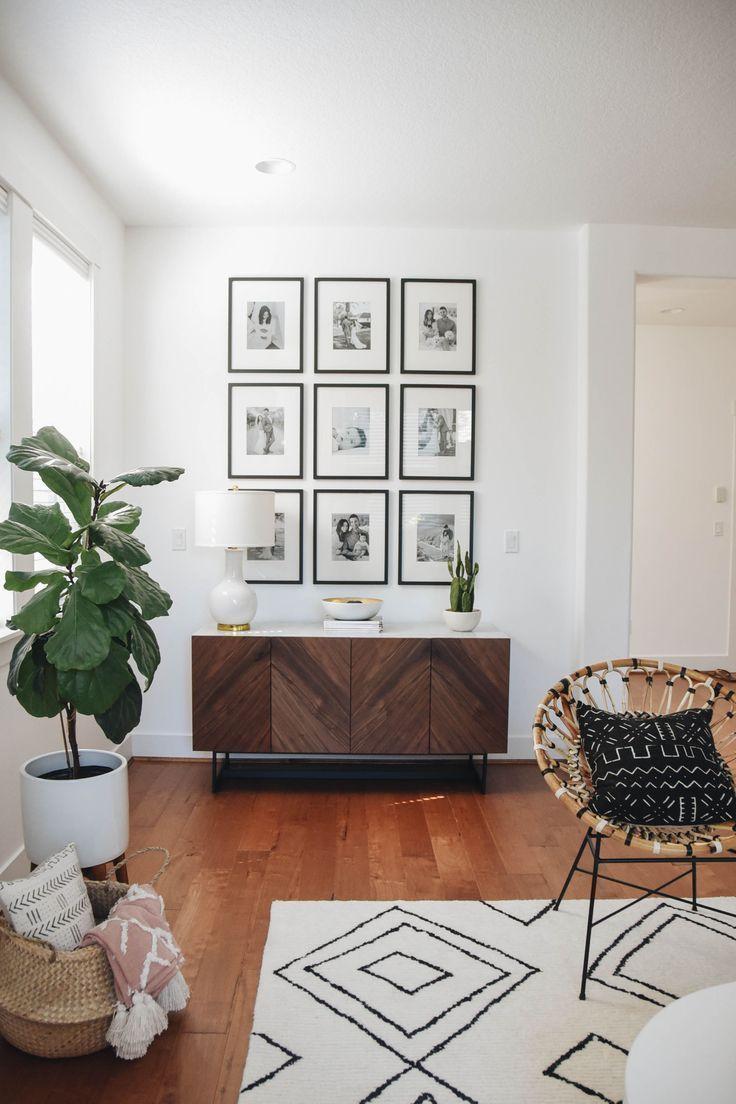 Galeriewand – DIY Wohnzimmer Dekoration