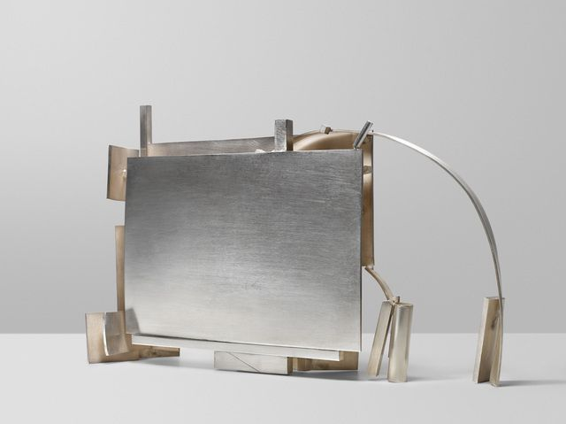 ANTHONY CARO Silver Piece 6, 1975-1977 Silver 10 5/8 × 16 1/2 × 3 1/2 in 27 × 41.9 × 8.9 cm