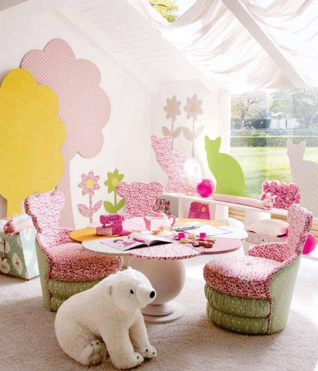 Spielbereich im Kinderzimmer deko dekoration