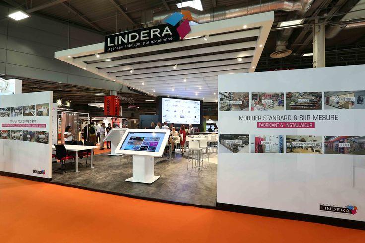 Stand Groupe Lindera au salon Equipmag 2016