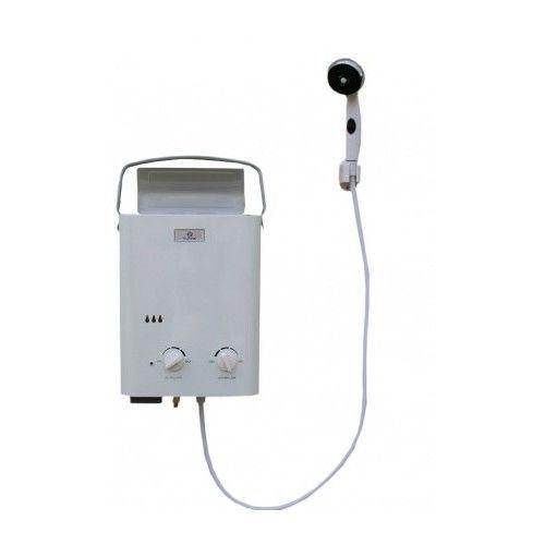 Portable Water Heater Shower Outdoor Poolside Backyard Tankless Water Pressure #heatsp