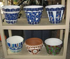 Flower Pot WIP's | Needed something easy after that trumpet,… | Flickr