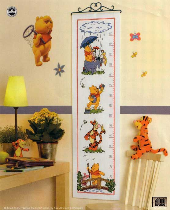 Pooh & Friends Height Chart