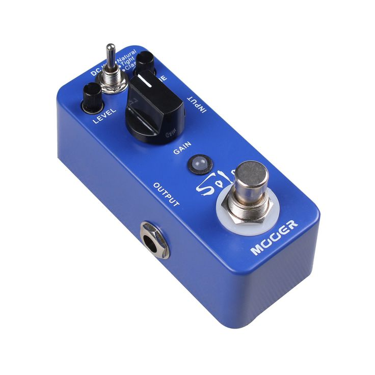 New Mooer Solo Distortion Overdrive Micro Guitar Effects Pedal!