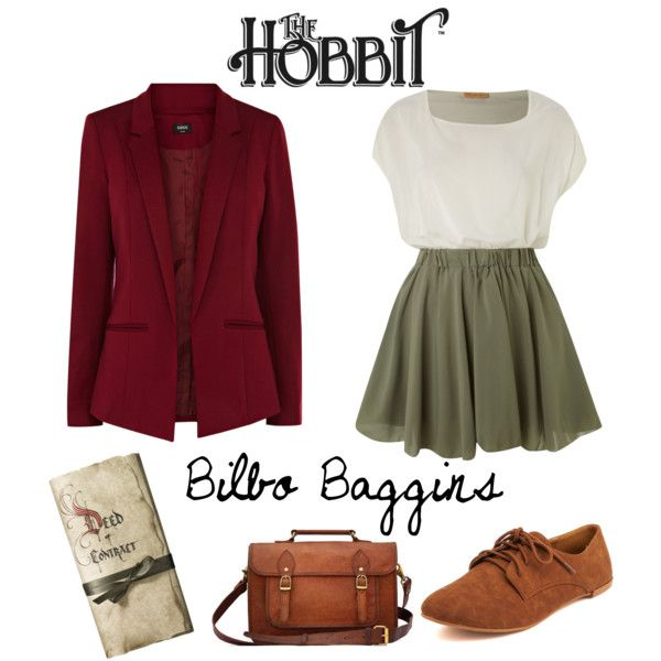 """Bilbo Baggins, On An Adventure"" by flower99 on Polyvore"