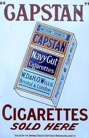 No surgeon general's warning: cigarette boxes came with none of today's stern warnings