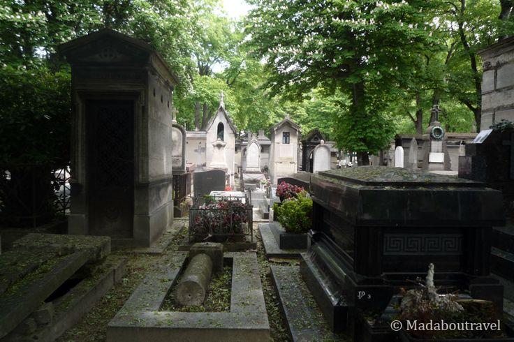 Cementerio de Montmartre en París