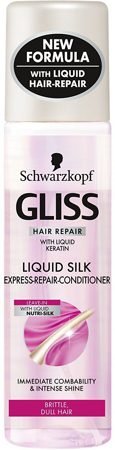 Schwarzkopf Gliss Liquid Silk Gloss Express-Repair Conditioner - 200Ml *** This is an Amazon Affiliate link. Be sure to check out this awesome product.