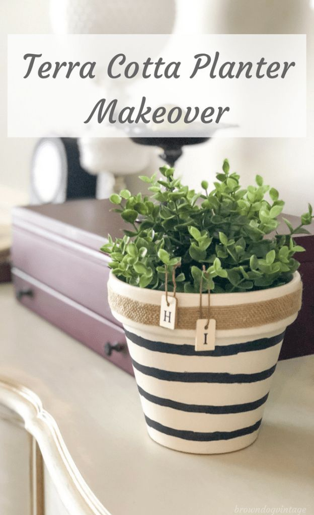 Painting Terracotta Pots How To Make This Easy Diy Painted Terra Cotta Pots Terracotta Pots Terracotta Planter
