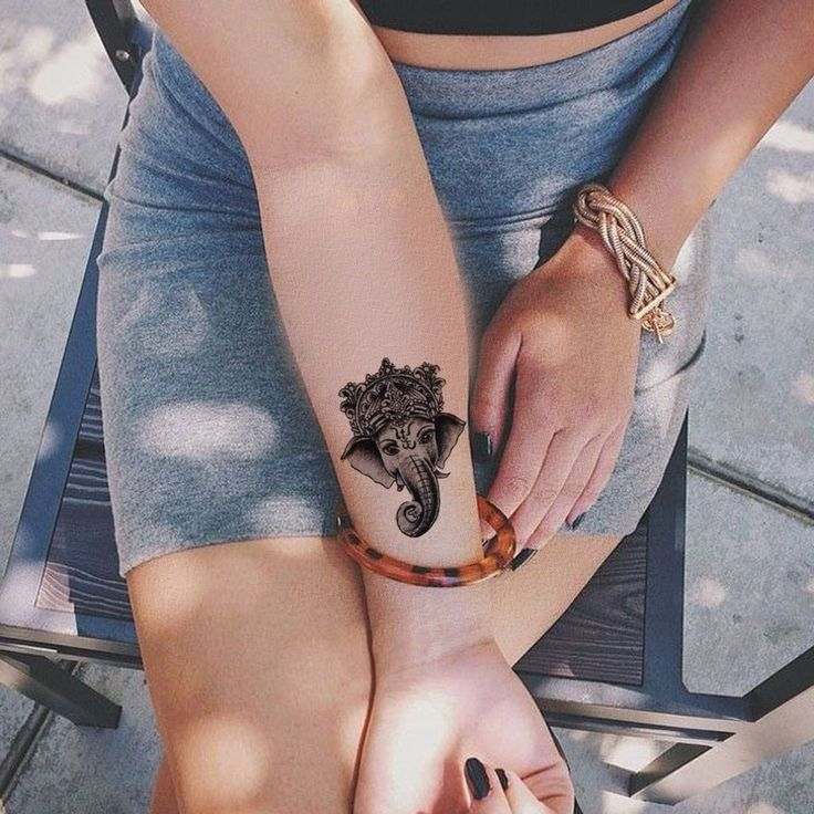 Ganesha Tattoo For Girls