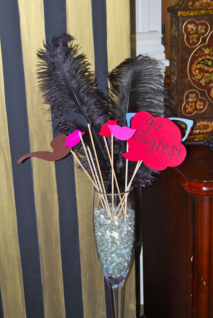 Gatsby Themed Photo Booth Props - By The Party Girl Events ...