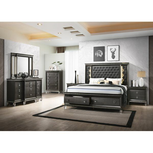 Karter Platform 3 Piece Bedroom Set Bedroom Set Bedroom Sets