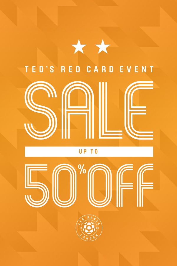 7944b01407dd25 Up to 50% off selected products in Ted s sale