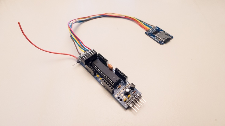 Prototype MP3 speler