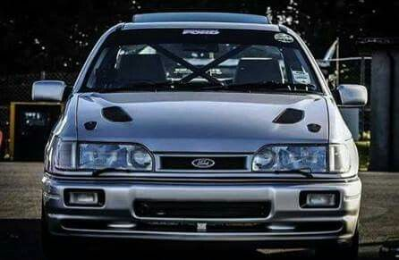 No many cars can scare by idling... but the sierra sapphire cosworth can...