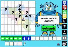 Belgische provincies oefenen en de basisbeginselen van programmeren aanleren met dit online spelletje.
