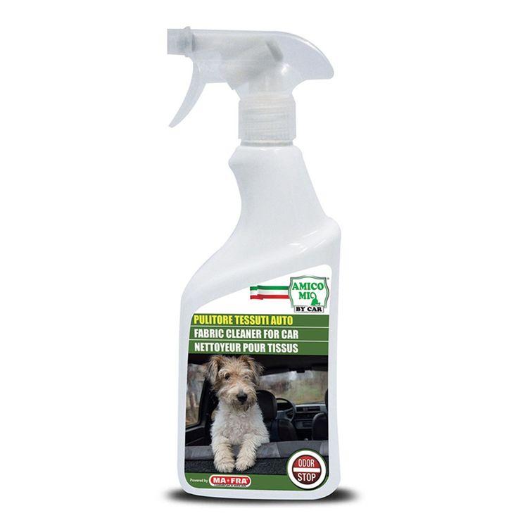 MA-FRA Pulitore tessuti auto pulizia interni 500ml cani gatti furetti LAM003