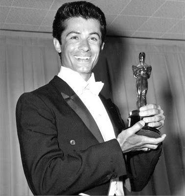 """""""I wouldn't mind even if [West Side Story (1961) is] the only thing people remember me for. It was a privilege just to be there and to contribute to something so wonderful. The last scene still gets me every time. It still brings tears to my eyes."""" - George Chakiris, Academy Award-winning actor, dancer"""
