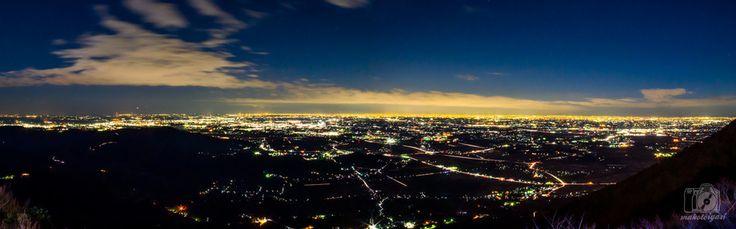 筑波山,スターダストクルージング,東京夜景,関東夜景,茨城夜景,パノラマ撮影,