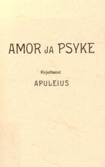 Amor ja Psyke   Kirjasampo.fi - kirjallisuuden kotisivu