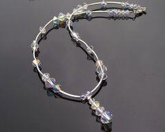 Beautiful Swarovski Crystal Wedding Necklace, Tabitha