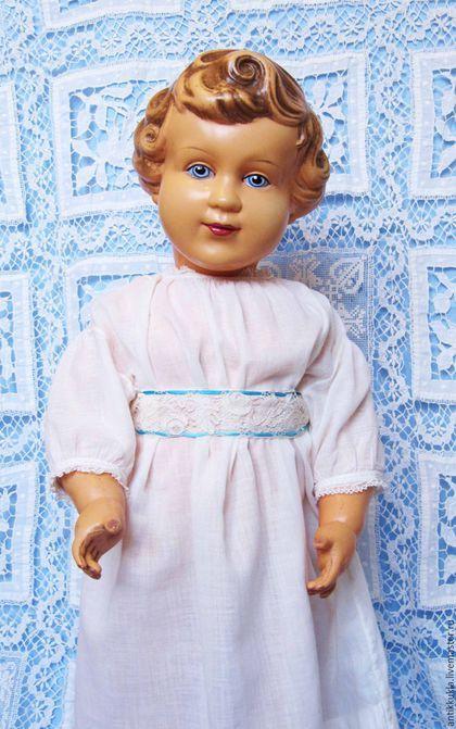 Винтажные куклы и игрушки. Шраерка.30-е.Огромная!. Антикварная кукла…