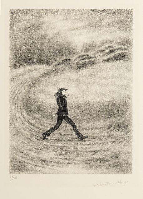 Valentine Hugo (1887-1968), Rimbaud marchant - 1939
