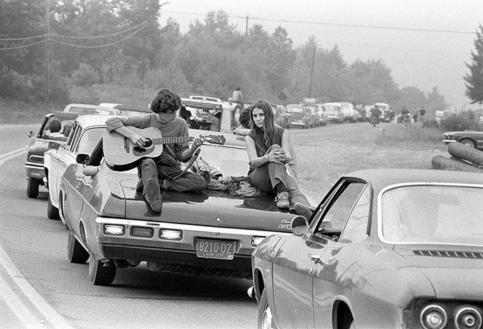 Baron Wolman's Woodstock – in pictures