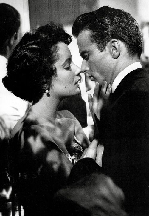 """Elizabeth Taylor and Montgomery Clift """"A Place In the Sun"""""""
