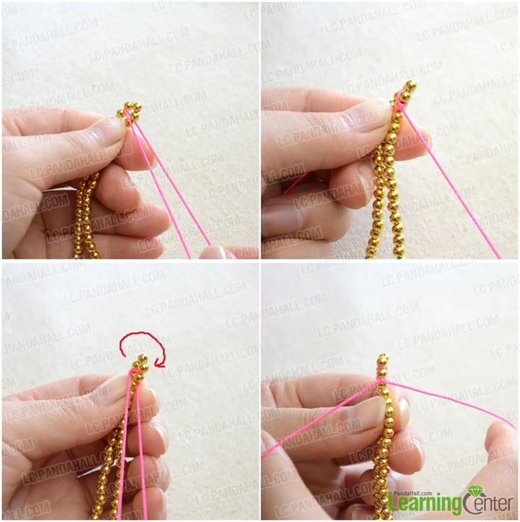 Fabulously Easy handmade Jewelry for Girls - Making String Bracelet in 3 Steps - Pandahall.com