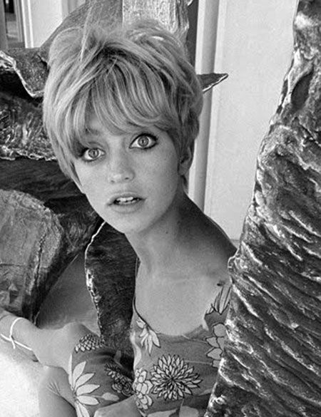 Super Cute Short Hair 21 The Very Young Goldie Hawn Lens Of