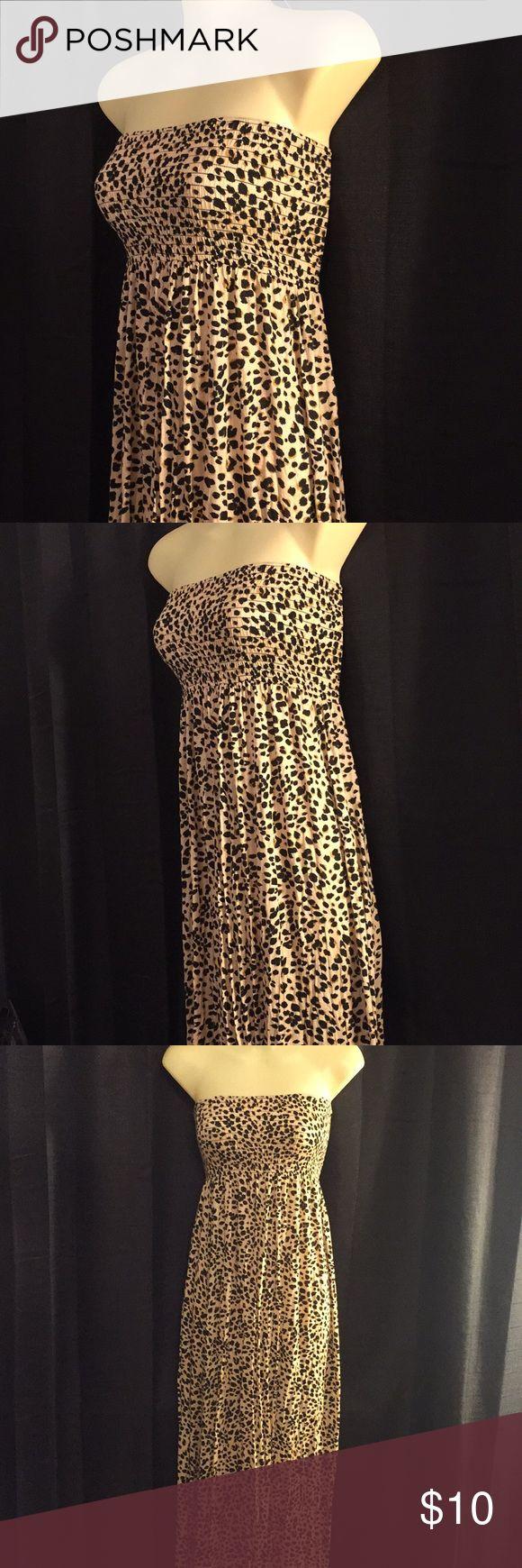 H&M Maxi Dress H&M Leopard Maxi Dress Divided Dresses Maxi