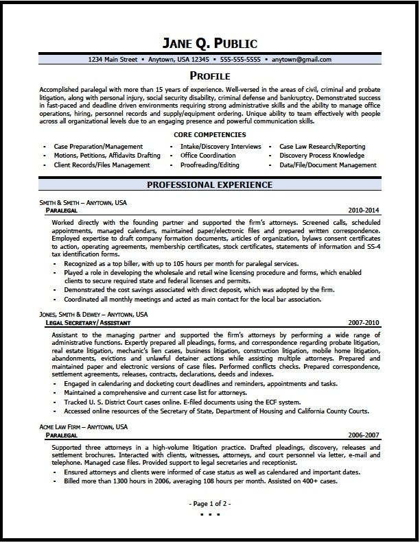 Sample Qa Specialist Resume Collett Resumejpg 25503300, This Resume