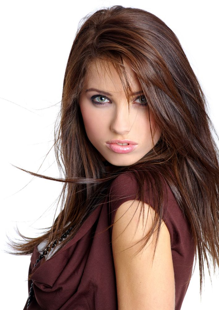 red highlights | dark brown hair with caramel and red highlights Hair ...