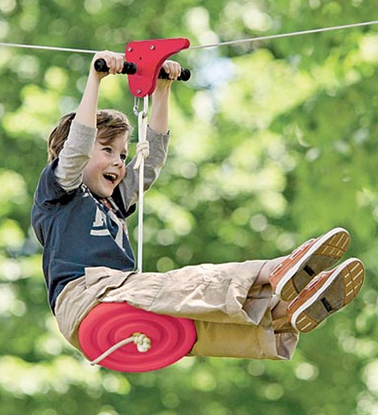 Get your kids off their iPads and video games, and out the door for some wholesome outdoor activity. The Slackers Zipline Kit is one sure-fire way to do it.
