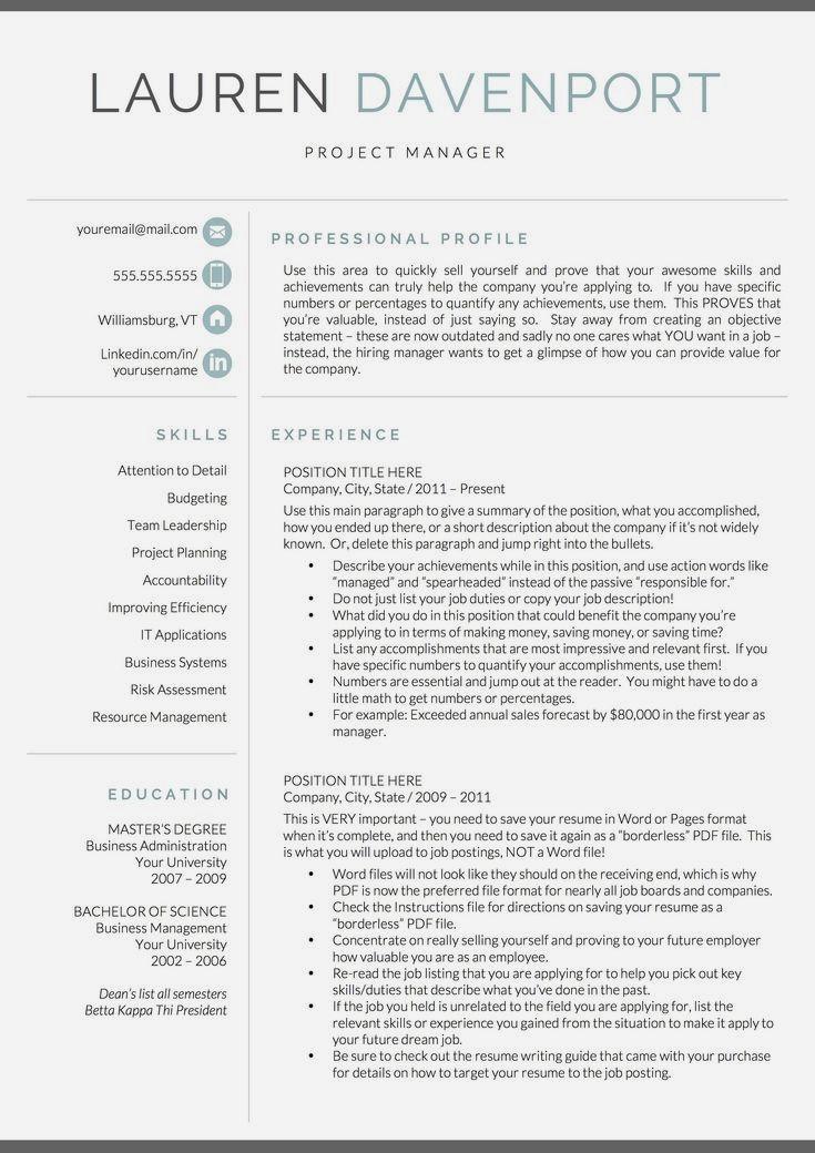 25 Job Resume Tips Job In 2020 Good Resume Examples Resume Examples Marketing Resume