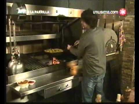 Ariel a la Parrilla - Bifes a la Criolla - Mousse de Chocolate - 3 de 3.avi