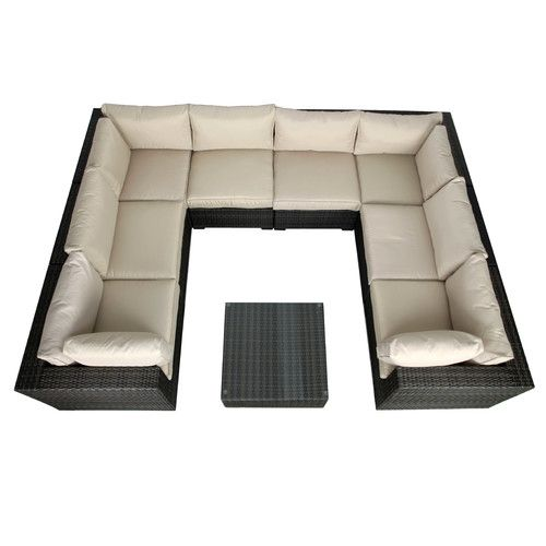 Found it at AllModern - South Hampton 9 Piece Sectional Seat Group with Cushions