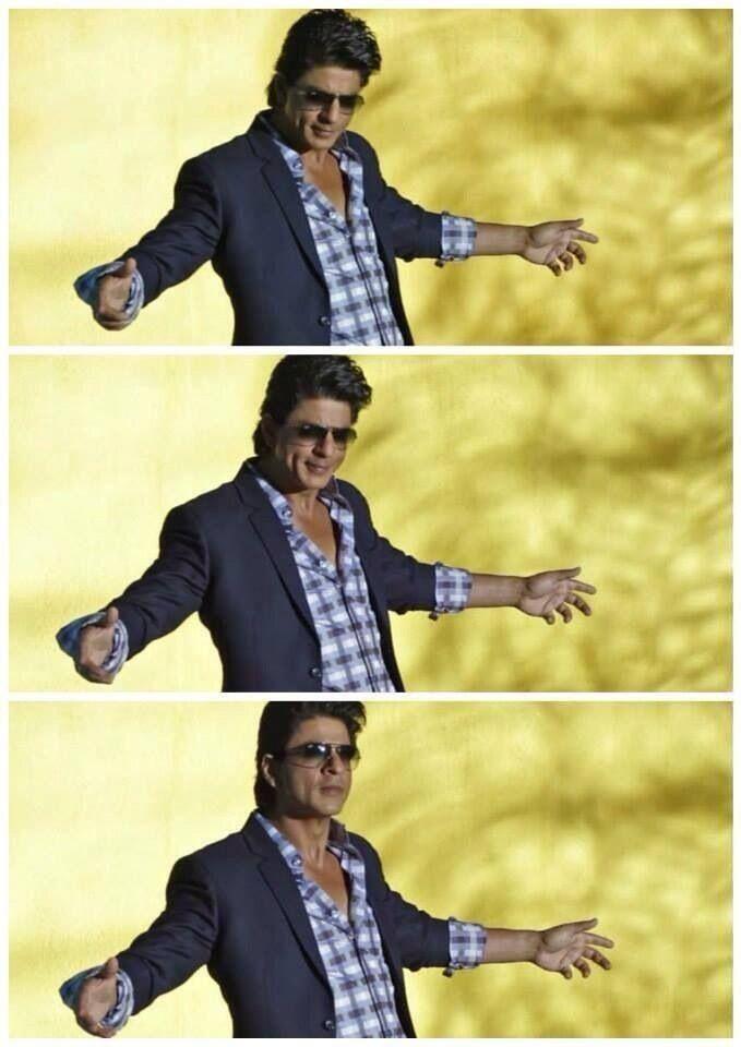 Shahrukh Khan - signature pose