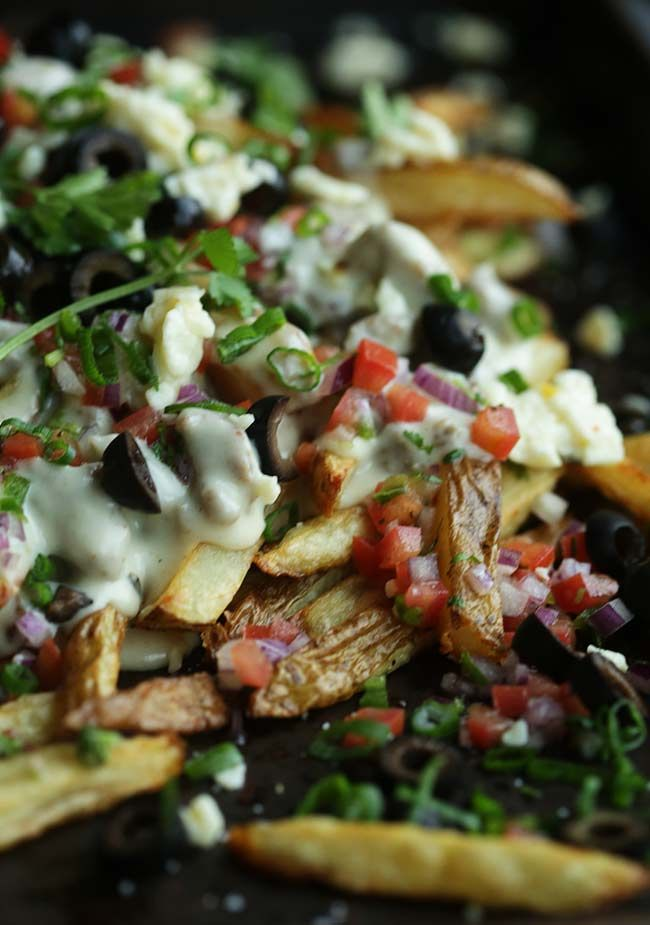 Poutine Recipe with Sausage and Pepper Jack Cheese