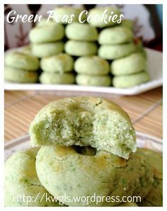 Green Peas Cookies (青豆饼)    #guaishushu #kenneth_goh    #green_peas_cookies   #青豆饼
