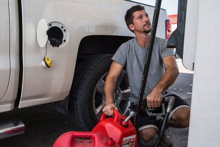 Storms Impact on Oil Industry Is Felt at Gasoline Pumps