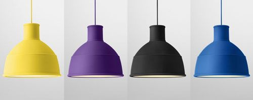 Unfold lamps made from rubber by  Muuto | NordicDesign