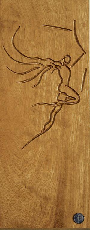 Icarus- Iroko wood -Heroes of Greek myths